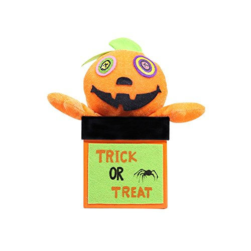 Kanggest Halloween Creative Doll Candy Box Decoration Ghost Festival Mall Hotel Kindergarten Gift Box Cookie Jar for $<!--$6.18-->