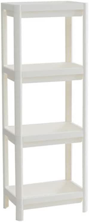 Shower Caddy Corner Shelves Bathroom Shelving Unit Plastic Shelf Kitchen Bathroom Storage 4 Tiers Shower Shelves
