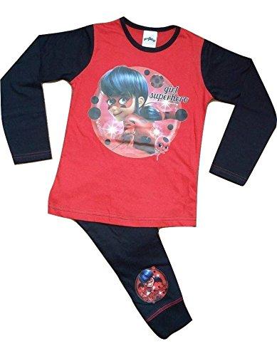 MIRACULOUS LADYBUG - Pijama - para niña Rojo Y Negro