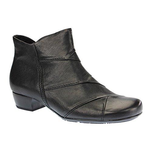 069ea3974225 SALE - GABOR comfort - Damen Stiefeletten - Schwarz Schuhe in Übergrößen  dFo4L4