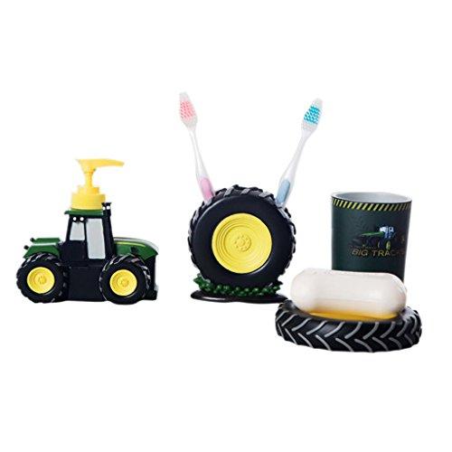 4 pcs set kid children cartoon bathroom accessories cute for Bathroom accessories uae