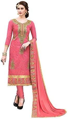 Blissta Women's Hand work Modal Silk Dress Material