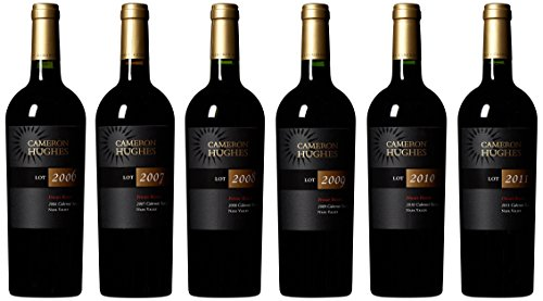 Cameron Hughes Private Reserve Napa Valley Cabernet Sauvignon Six Vintage Vertical (2006 - 2011) Wine Mixed Pack with Wooden Gift Box, 6 X 750 mL