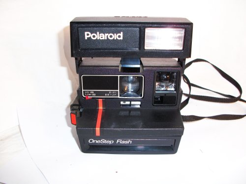 Polaroid One Step Camera with Flash