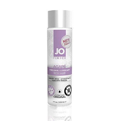 JO Agape Original Water Based Personal Lubricant (4 oz)