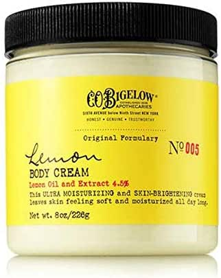 C.O. Bigelow Lemon Body Cream 8 Oz