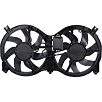 MAPM Premium PATHFINDER 13-15 RADIATOR FAN ASSEMBLY, Dual Fan, 2.5L/3.5L Eng.
