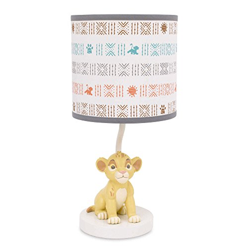 Disney Baby Lion King Cirle of Life Lamp Base and Shade