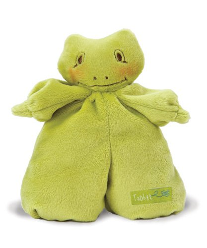 Bunnies By The Bay Hopscotch Plush Frog Toy, Tadbit