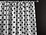 Zen Creative Designs Polka Dots on White Cotton