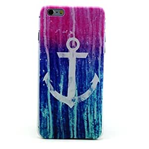 DDL Meteor Shower Anchor Pattern Hard Case for iPhone 6 Plus