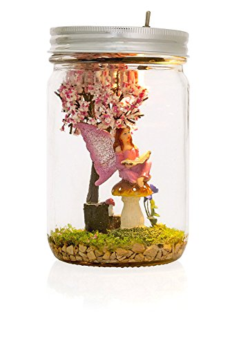 Cheap Marmelada Lights Handicraft Story in a Jar | Fairy Tree, LED Bedside Kids, nursery Night Lamp | Bookshelf or Tabletop, Battery operated 2 months runtime.