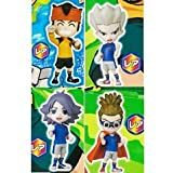 In Fome rare ver Inazuma Eleven set of 4 Height about 7cm PVC made painted figures
