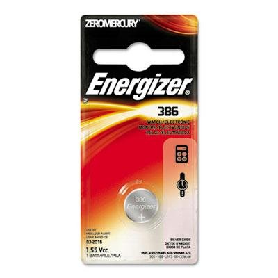Energizer - 12 Pack - Watch/Electronic Battery Silvox 386 1.5V Mercfree Product Category: Breakroom And Janitorial/Batteries & Electrical Supplies