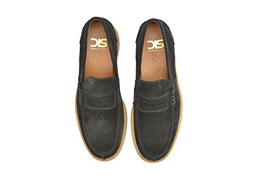 Vos À en Main Italie pour Hommes Daim en Suédé en Noir Propres Chaussures Marcello Noir Fait Lycée la de DIS 100 Cuir Luxe Hommes BqwYSY
