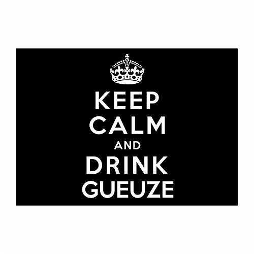 teeburon-keep-calm-and-drink-gueuze-pack-of-4-stickers