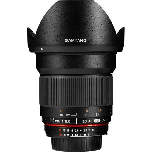 Samyang SY16M-NX 16mm f/2.0 Aspherical Wide Angle Lens for Samsung NX Cameras Style: Samsung NX, Model: SY16M-SAM, Electronics & Accessories Store by Electronics World