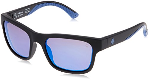 HUNT MATTE BLACK NAVY - HAPPY BRONZE POLAR W/ DARK BLUE - Hunt Sunglasses