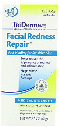 TriDerma Facial Redness Repair 2.2oz. (3 (Triderma Facial Redness Repair)
