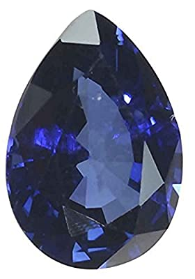 Blue Lab Sapphire Pear Loose Gem 13mm x 9mm by uGems