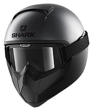 Shark casco integral VANCORE Street neón, negro, talla L, Gris
