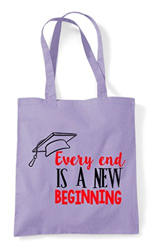 Graduation Bag Is Shopper Every New Lavender A End Tote Beginning qXK4wpT