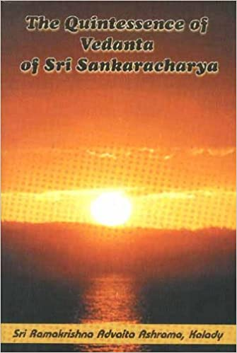 Amazon.com: The Quintessence of Vedanta of Sri Sankaracharya ...