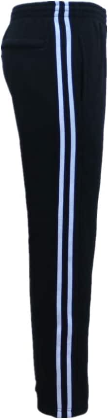 Zmart Australia New Men's Fleece Lined Casual Sports Track Suit Striped Sweat Pants Gym Trackies