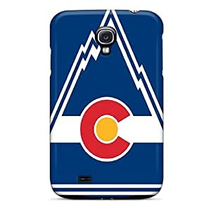 Perfect Hard Phone Cover For Samsung Galaxy S4 (BdS184yBQl) Provide Private Custom Fashion Colorado Rockies Pattern