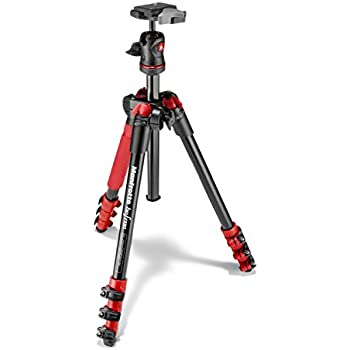 Manfrotto MKBFRA4G-BH BeFree Compact Aluminum Travel Tripod Green