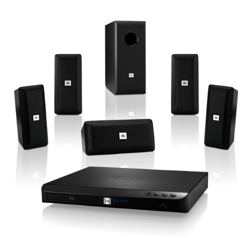 Jbl Surround Sound System - JBL Cinema BD 100 Complete 5.1-Channel 3D Blu-ray Disc Integrated Home Theater System