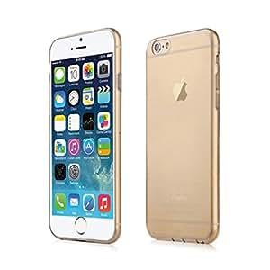 Peng Kairui888 TPU Gel Soft Skin Case Cover for Apple iPhone 6 (4.7 inch) Gold