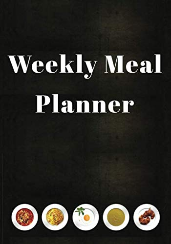 Weekly Meal Planner: 52 Week Food Planner With Grocery Shopping List To Track And Plan Your Meals : Woodland Cover Design