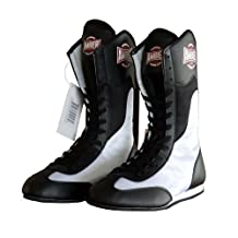 Amber Sporting Goods ASH-001-10 Fight Maxxe v1.0 Full Height Boxing Shoes