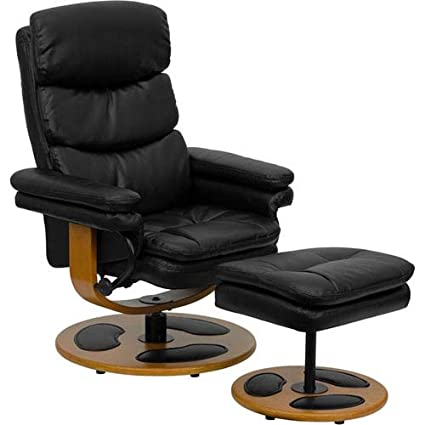 Enjoyable Amazon Com Parkside Contemporary Black Leather Recliner And Uwap Interior Chair Design Uwaporg