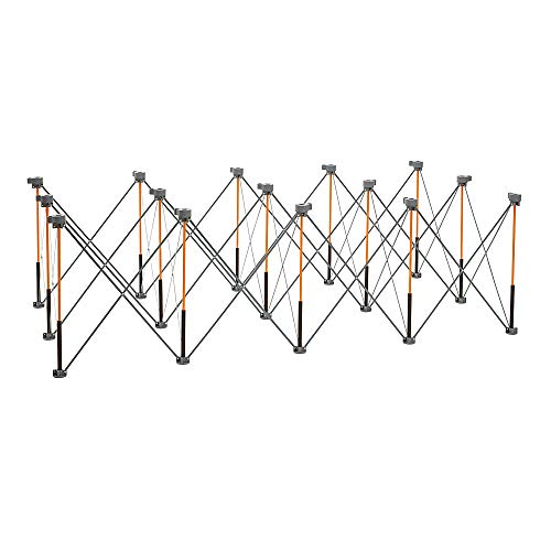 - Bora Centipede 4x8 Feet Work Stand and Portable Table | XL Sawhorse Support with Folding, Collapsible Steel Legs, CK15S