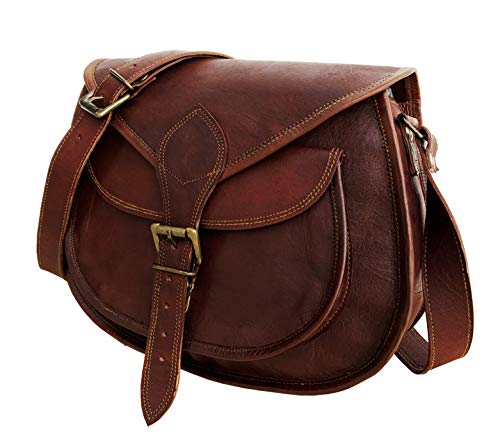 13 Inch Leather Women Purse Bag | Leather Cross-body Bag | Leather Purse | Women Purse Leather | Leather Cross-body bag…
