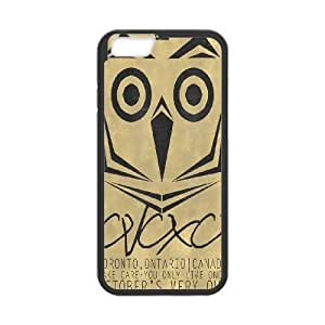 iPhone6s Plus 5.5 inch Phone Case Black Drake Ovo Owl WQ5RT7529491