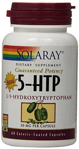Solaray L-5 HTP Capsules, 50 mg, 60 Count