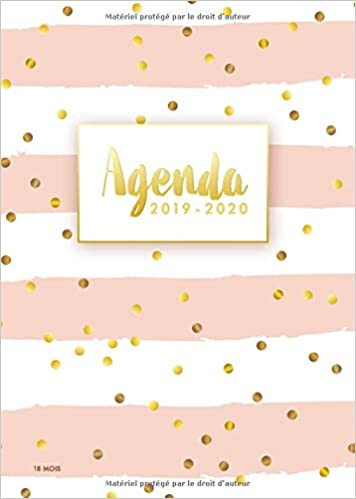 Agenda 2019/2020: Calendar & Planificateur - Agenda ...