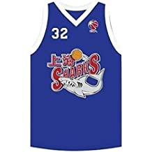fan products of Jimmer fredette Royal 32 Shanghai Sharks China Basketball Jersey With Cba Patch