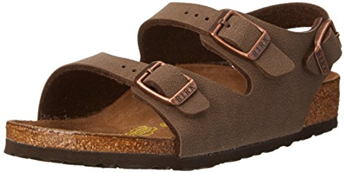 Birkenstock Roma Sandal (Toddler/Little Kid/Big Kid),Mocha,30 EU (12-12.5 N US Little -