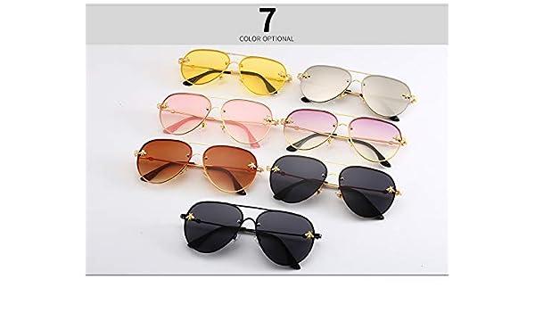 : HOT Luxury Pilot Little Bee Sunglasses Men Women