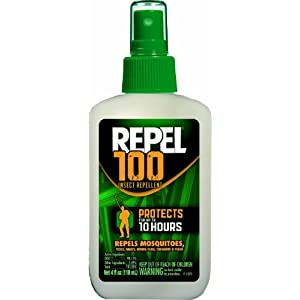 Repel 100 Insect Repellent, 4 oz. Pump Spray, Single Bottle