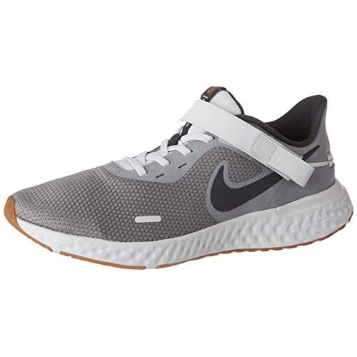 chollos oferta descuentos barato Nike Revolution 5 Flyease M Zapatillas para Correr para Hombre Grigio Smoke Grey Dk Smoke Grey Photon Dust Mtlc Copper Gum Med Brown 40 EU