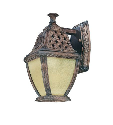 - Biscayne Wall Lantern in Biscayne Bulb Type: Fluorescent