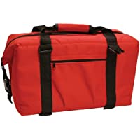NORCHILL 9000.40 / NorChill 12 Can Soft Sided Hot/Cold Cooler Bag - Red