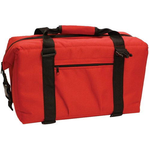 NorChill – NorChill 24 Can Soft Sided Hot Cold Cooler Bag – Red