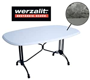 Werzalit Stratoa/Carrara Dining Table Top 146 x 94 cm