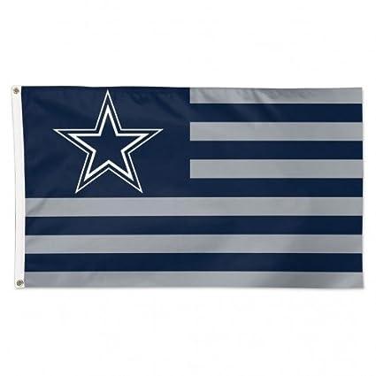 4b30fc71 WinCraft NFL Dallas Cowboys Flag3'x5' Flag, Team Colors, One Size